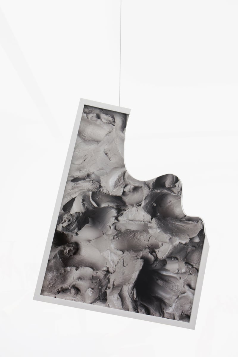 Rachel De Joode, A Ruin (III), 2014, Digital Fine Art Print on Hanemüller Photo Rag Paper in partially cut custom frames
