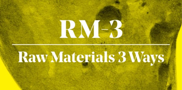 "13. ""Raw Materials Three Ways"""