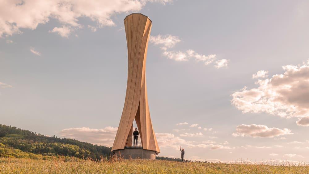 Der Urbach Turm läutet einen Paradigmenwechsel im Holzbau ein