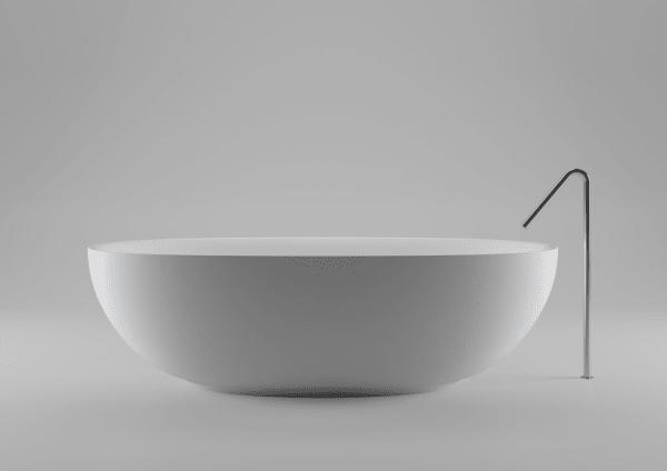 Reif für die Insel: Der neue Klassiker vonBoffiist nach einer Insel vor der Küste Miamis benannt. Für den dortigen Palazzo Del Sol, ein neues Resort, designte Boffis Art-Director Piero Lissoni die minimalistische Wanne.