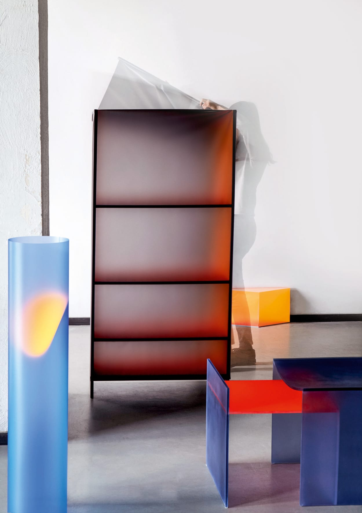 Design Academy in Eindhoven, The Light of Colour, Nai-Dan Chang