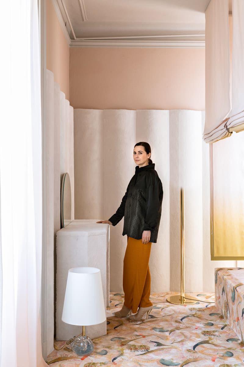 Cristina Celestino, Porträt