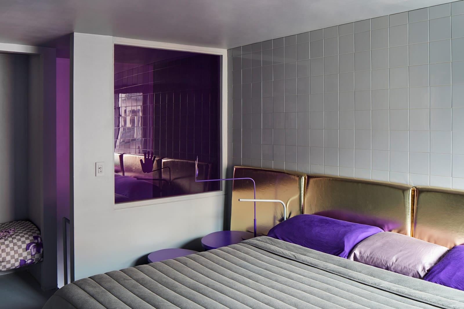 Harry Nuriev Nolita Apartment Schlafzimmer