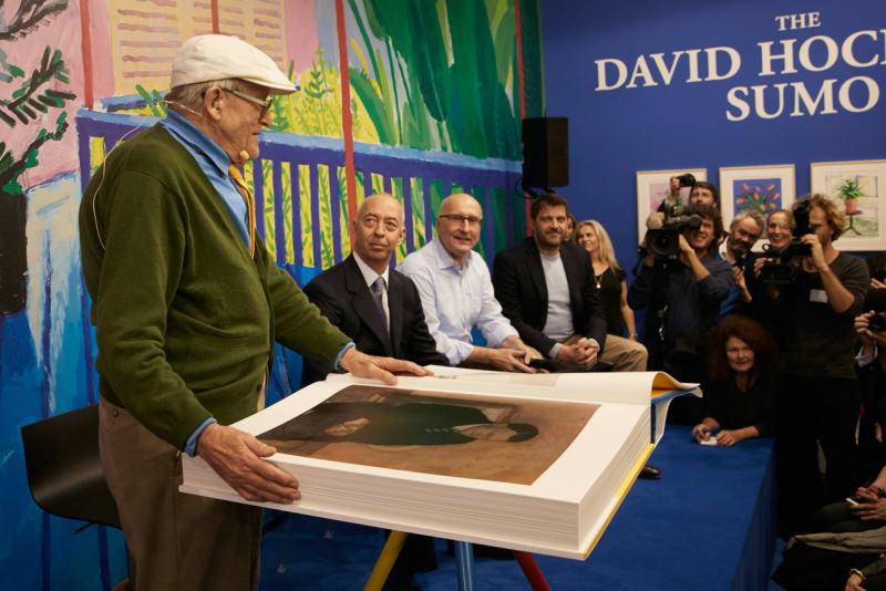 David Hockney Sumo B