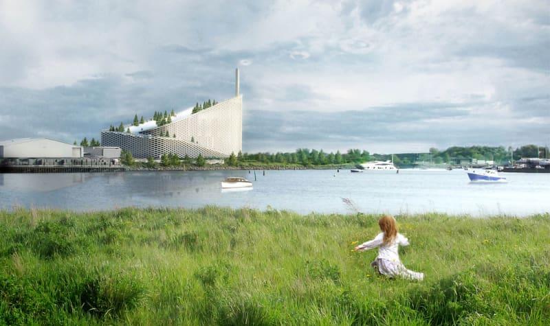 BIG Kraftwerk Amager Kopenhagen