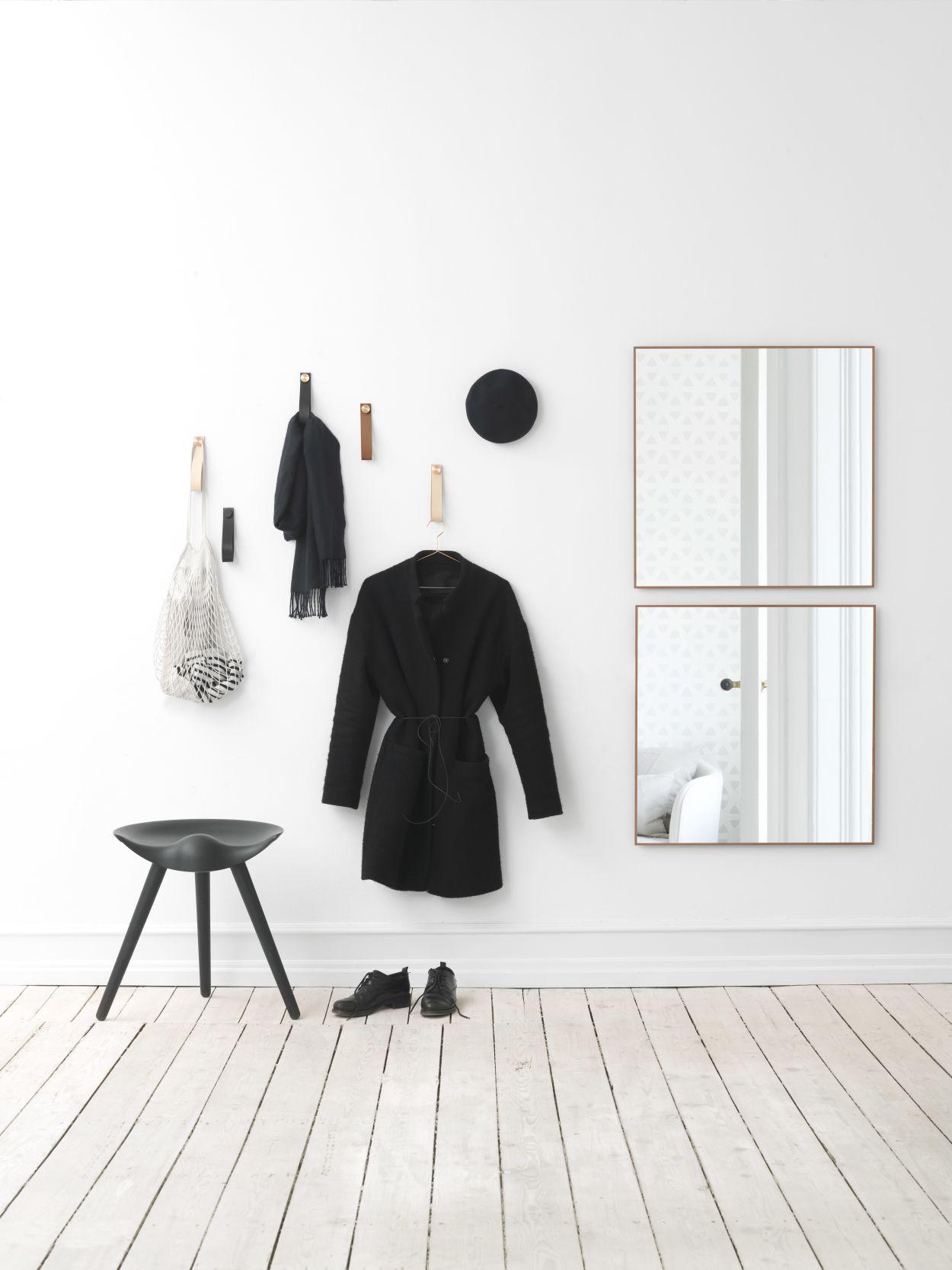 Wohn-Accessoire Skandi Design, Spiegel View by Lassen, Spiegel by Lassen
