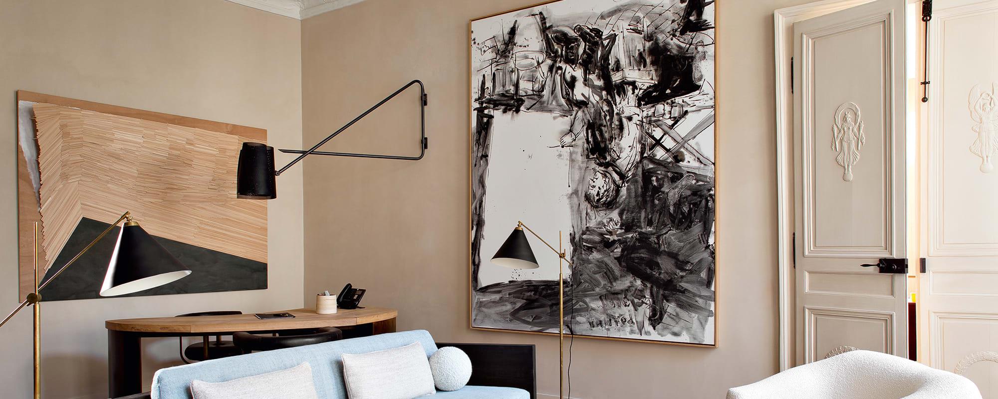 Pierre Yovanovitch, Paris, Salon, Well, Wohnung, Design