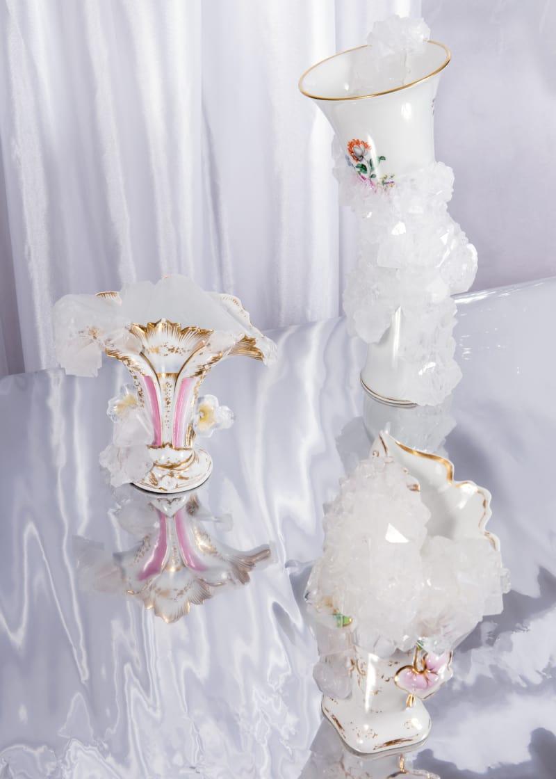 "Lukas Wegwerth, ""Crystallization Vases"""