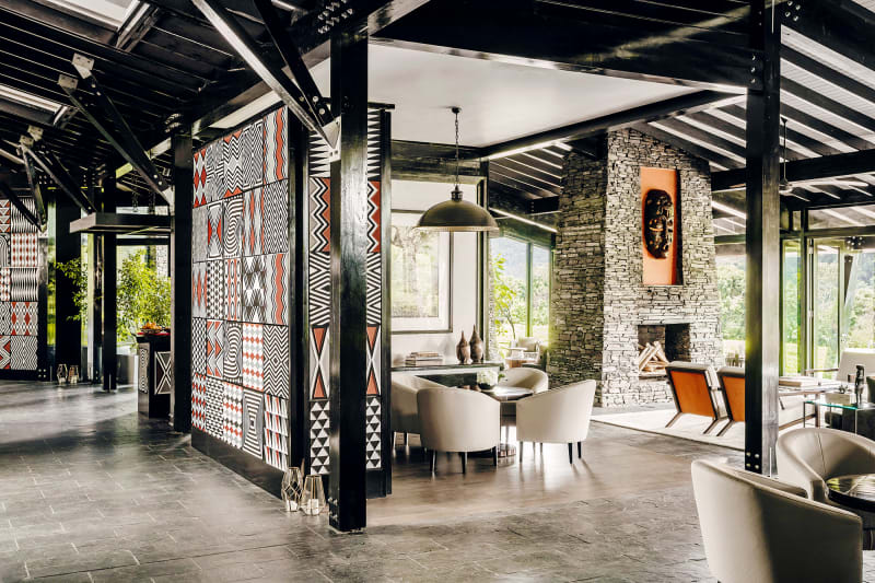 Ruanda, One & Only Nyungwe House, Lobby