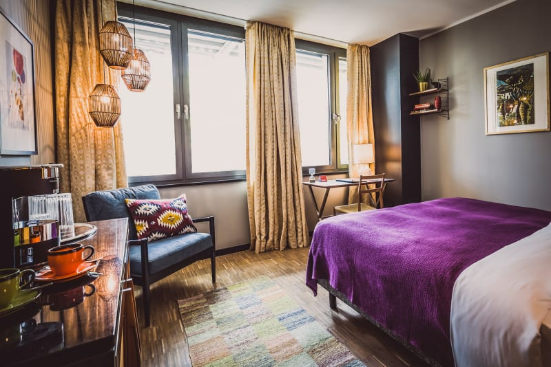 Henri Hotels, Zimmer