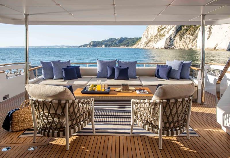 Yacht Interior Antonio Citterio Patricia Viel