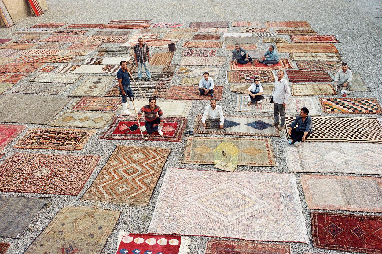Farbe, Teppich, Persien, Iran, Hamburg, bunt
