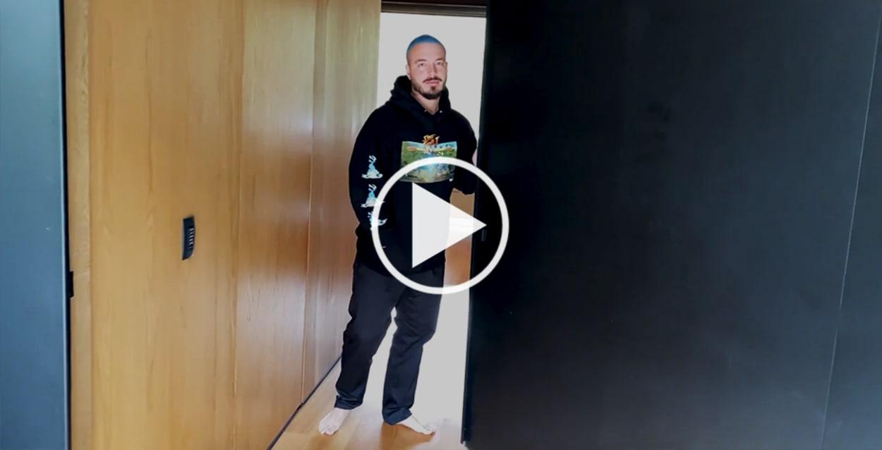 J Balvin AD Open Door Homestory