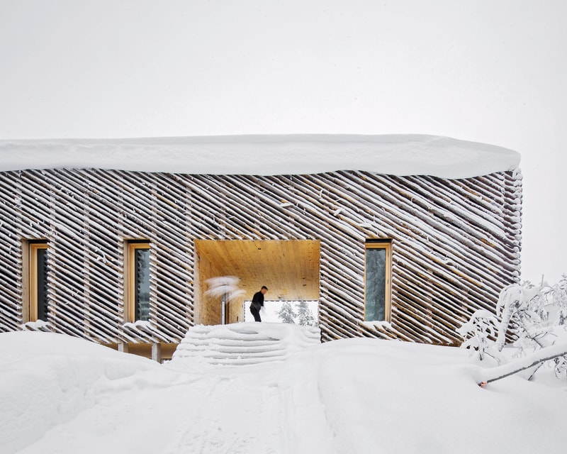 Eingangsbereich Skigard Hytte