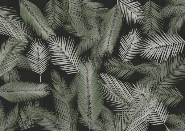"""Texturae, """"Macao"""", Schwarz/Weiß, Warp Collection."""