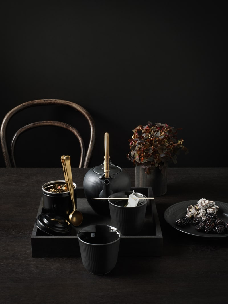 "3. Royal Copenhagen, ""Black Fluted"""