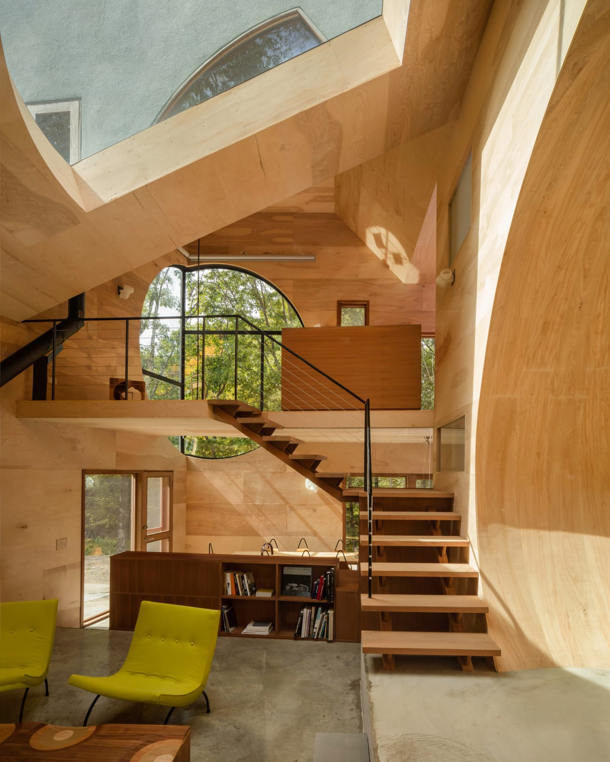 Ex of In House, Steven Holl