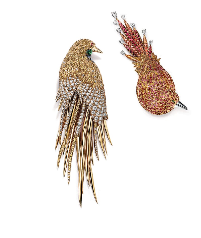 Vogelbroschen