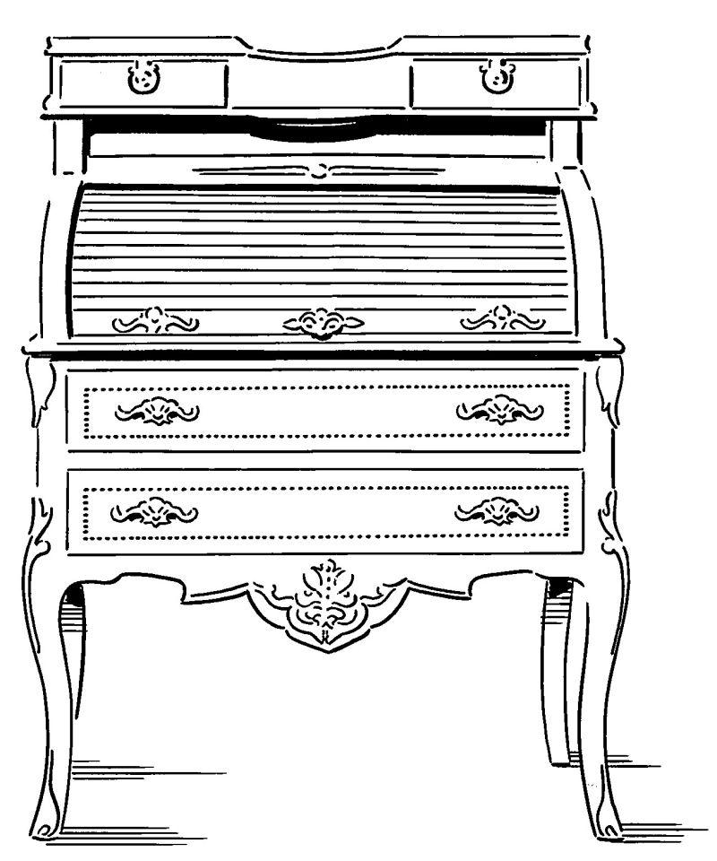 Sekretär Illustration