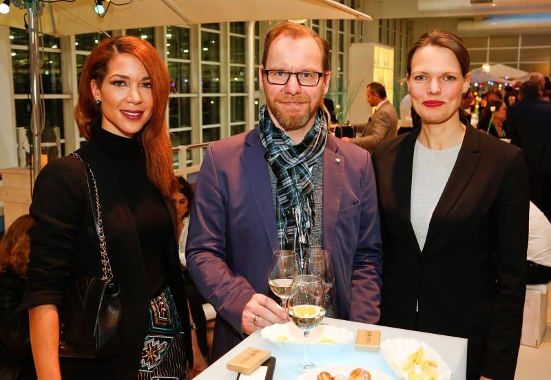 Saskia Diehl, Olaf Deneberger, Claudia Johannes.