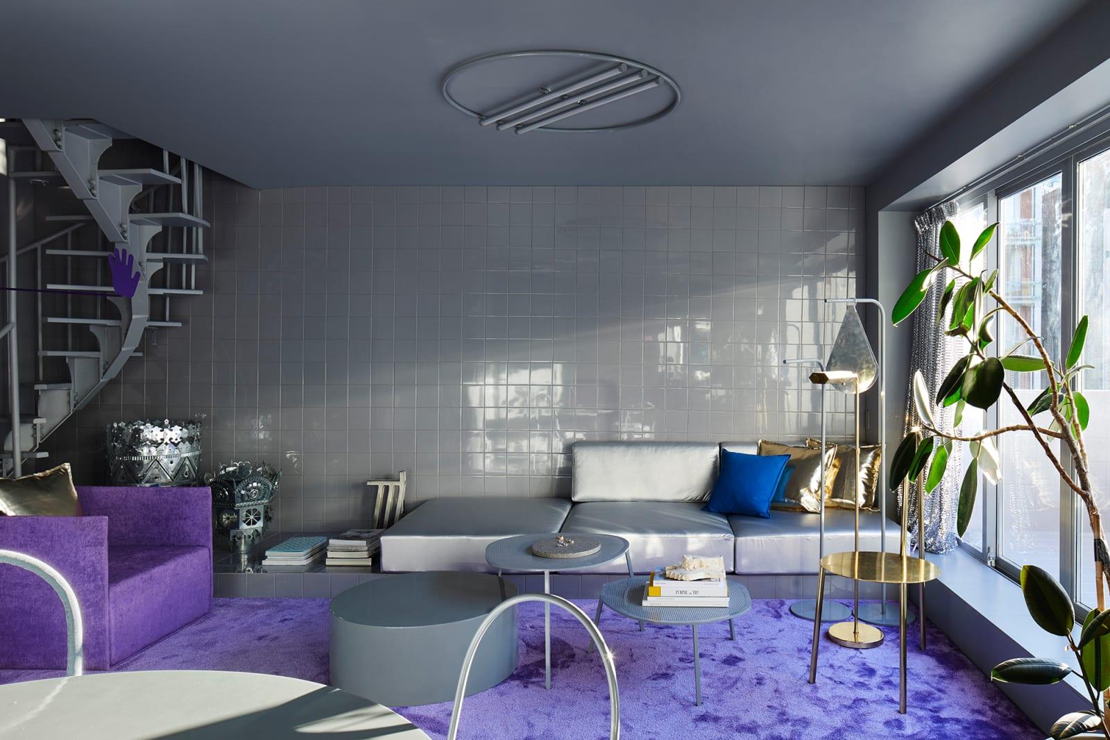 Harry Nuriev Nolita Apartment Wohnzimmer