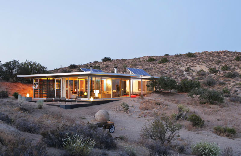"5. ""Off-Grid itHouse"" von Taalman Koch in Pioneertown, Kalifornien"