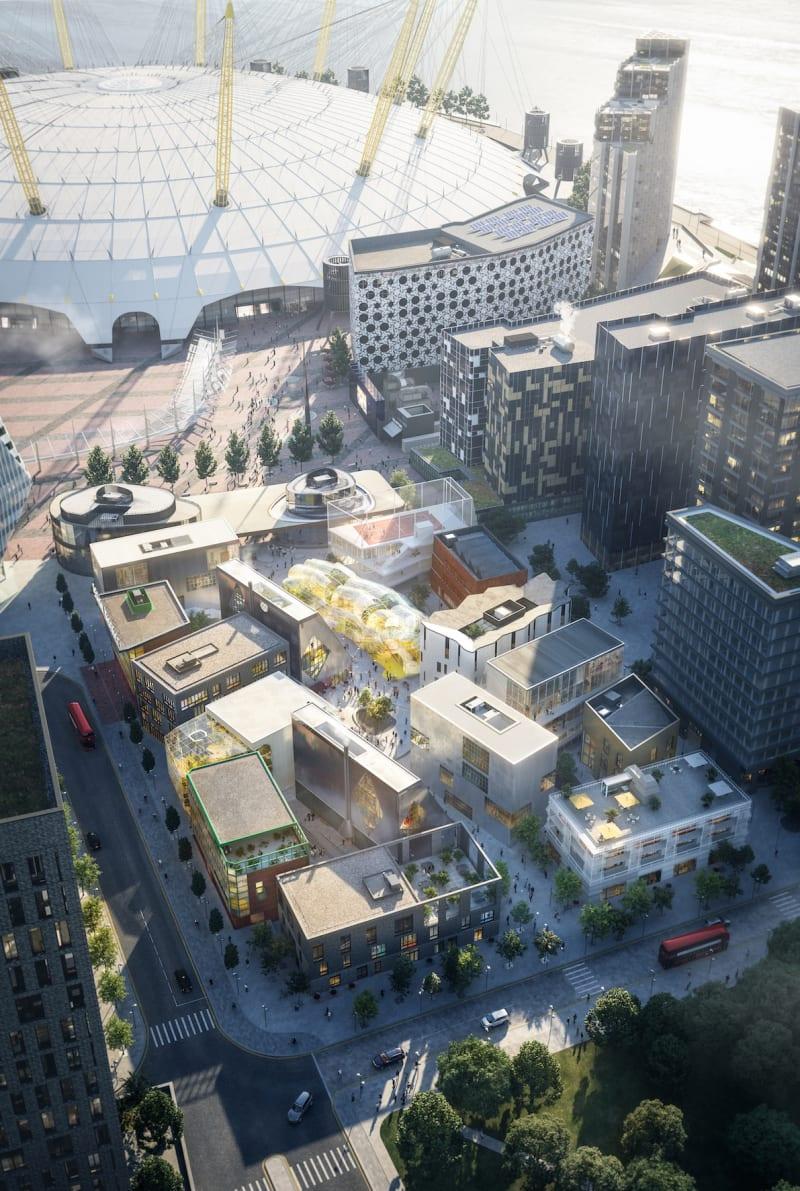 Londons neuer Design District