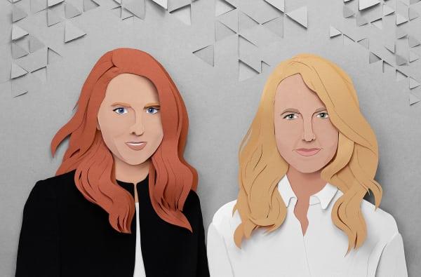 """Cut-out statt Foto: Patricia Urquiola und Martina Starke kennen sich, seit sie 2010 beim Projekt """"The Dwelling Lab"""" kooperierten."""