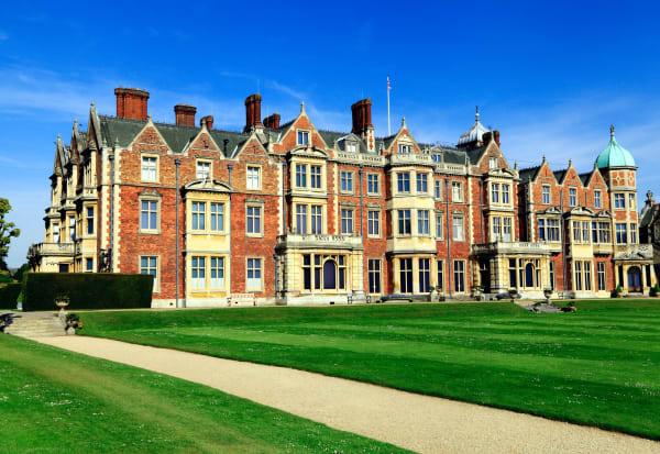 Sandringham House, das Landhaus von Queen Elizabeth.