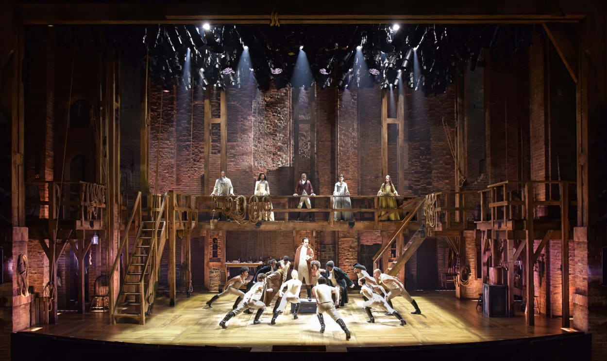 Hamilton, Disney +, Set, Designer, Musical