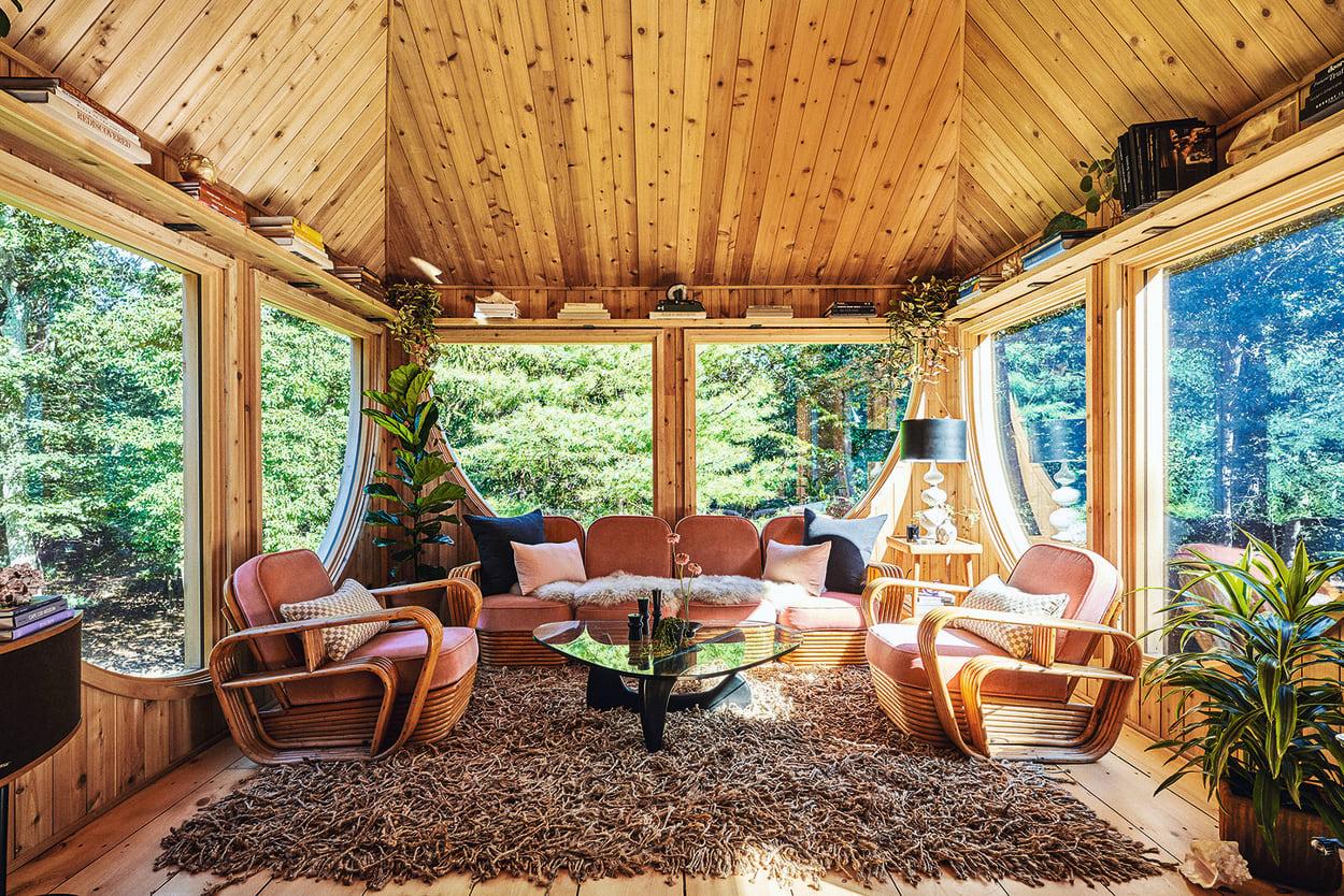 Wohnzimmer Antler House Sofa und Loungesessel