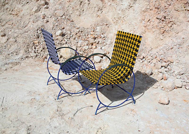 """7. """"Double Chair"""" von Marni"""