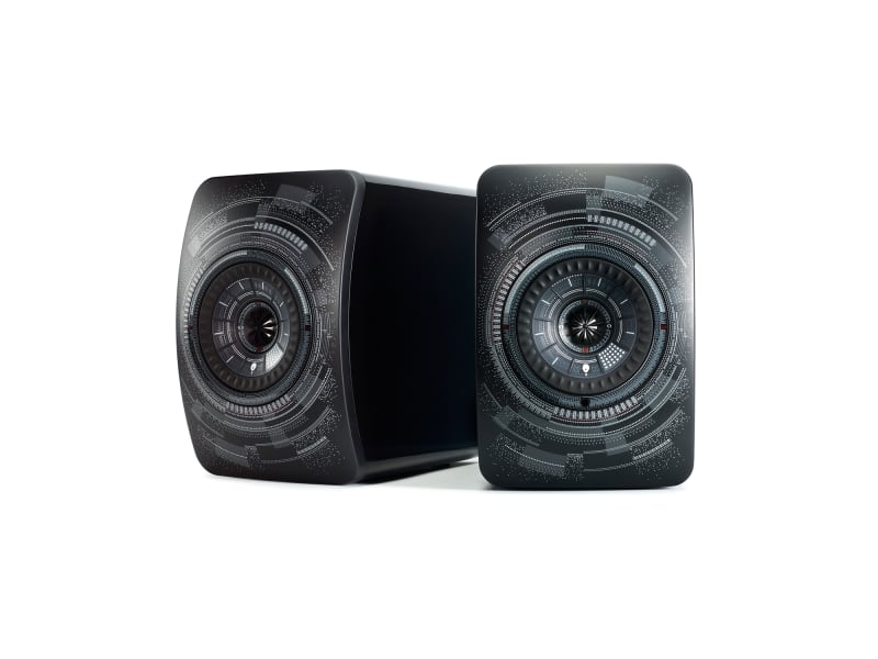 "2. KEF LS50 Wireless ""Nocturne"" by Marcel Wanders"