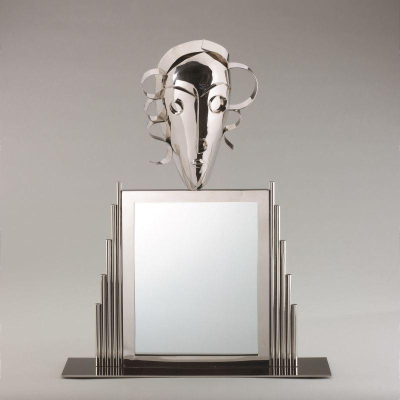 Spiegel silber Hagenauer