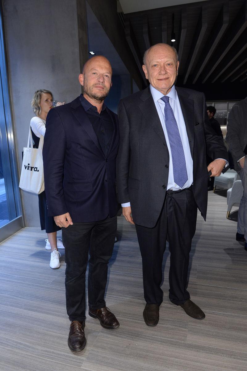 Vincent Van Dusysen und Carlo Molteni