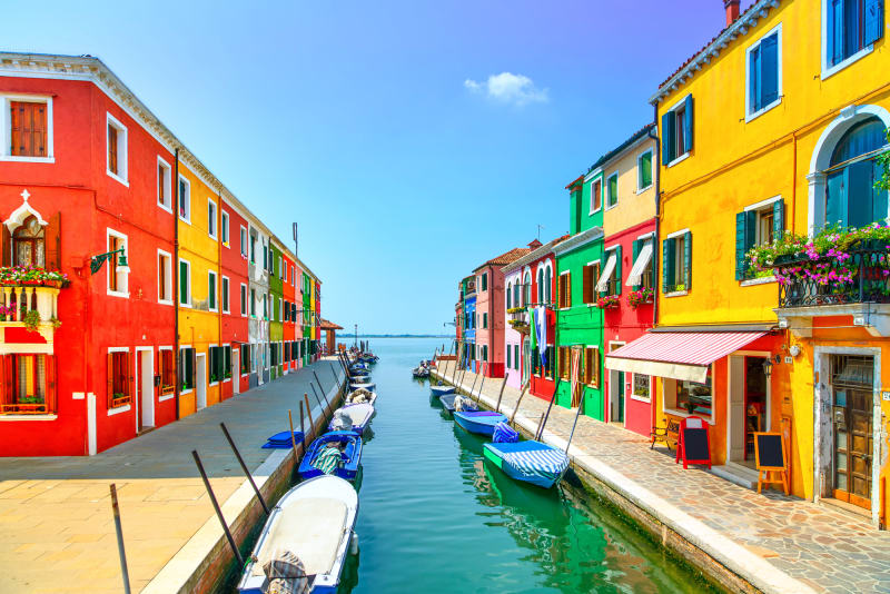 5. Burano, Italien
