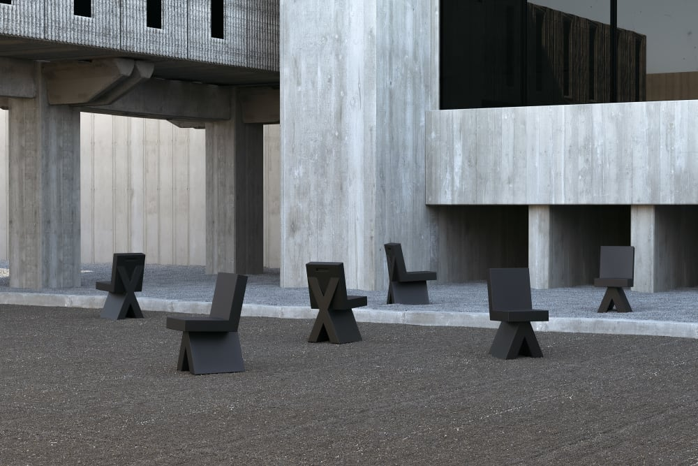 Objekte unserer Tage lancieren einen neuen Stuhl