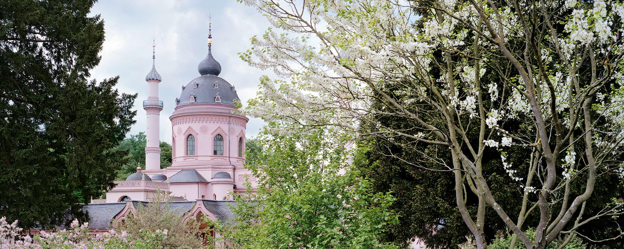 Garten, Moschee, Architektur, Schloss, Schwetzingen, Rokoko