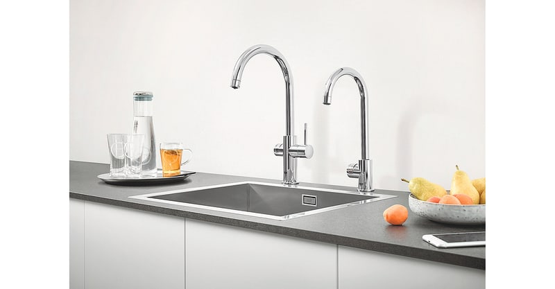 "Armaturen ""Grohe Blue Professional"" und ""Grohe Red"""
