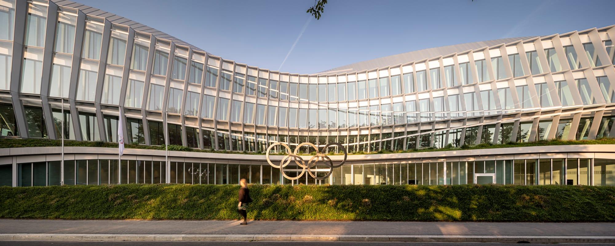 IOC, Architektur, Neubau