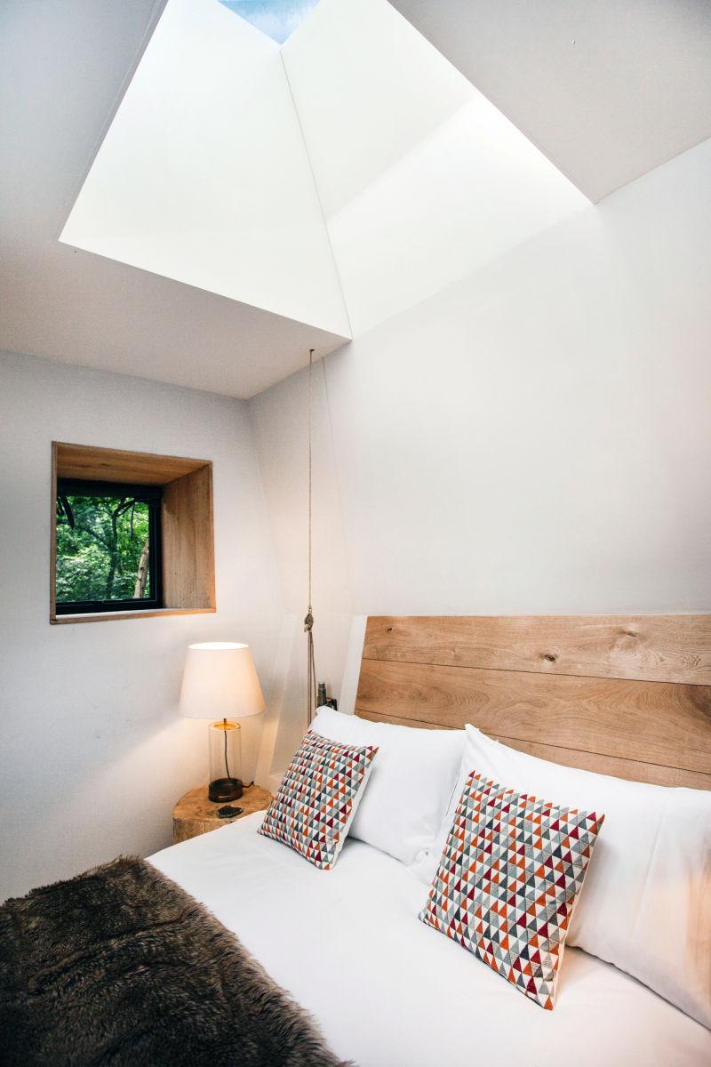 Woodman's Treehouse Schlafzimmer