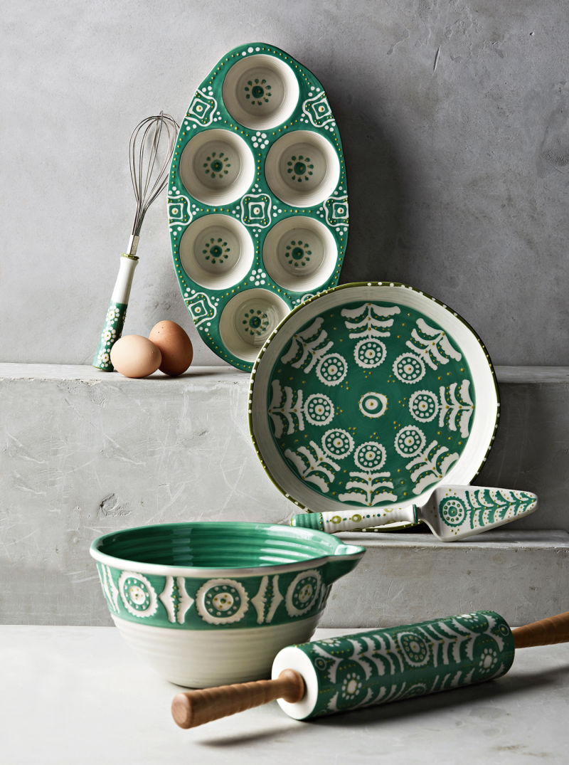 Anthropologie Brentanella Dish Set