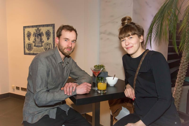Lukas Wegwerth und Corinna Dehn