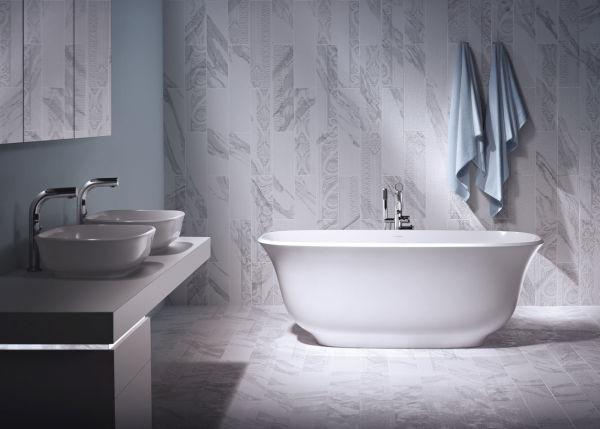 """Badewanne """"Amiata"""" von Sandro Meneghello und Marco Paolelli für Victoria + Albert."""