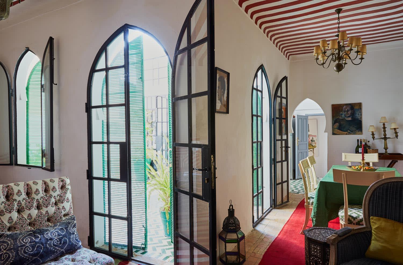 ein Riad voller Farbe in Tanger