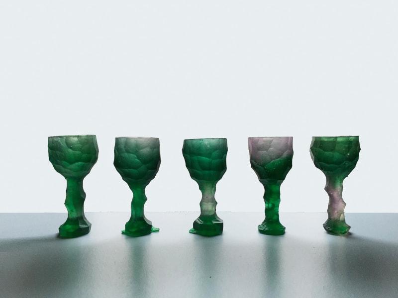 """6. Alissa Volchkova, """"Stone Age Glasses"""""""
