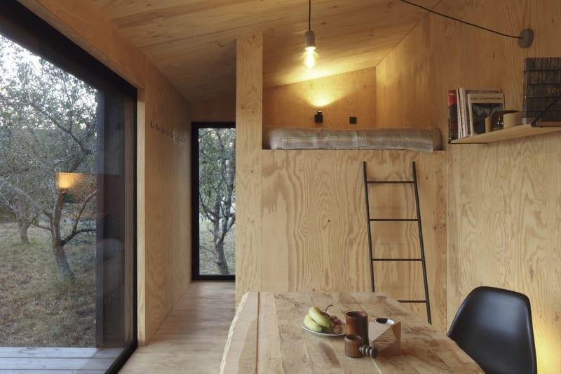 Hütte auf 22 Quadratmetern