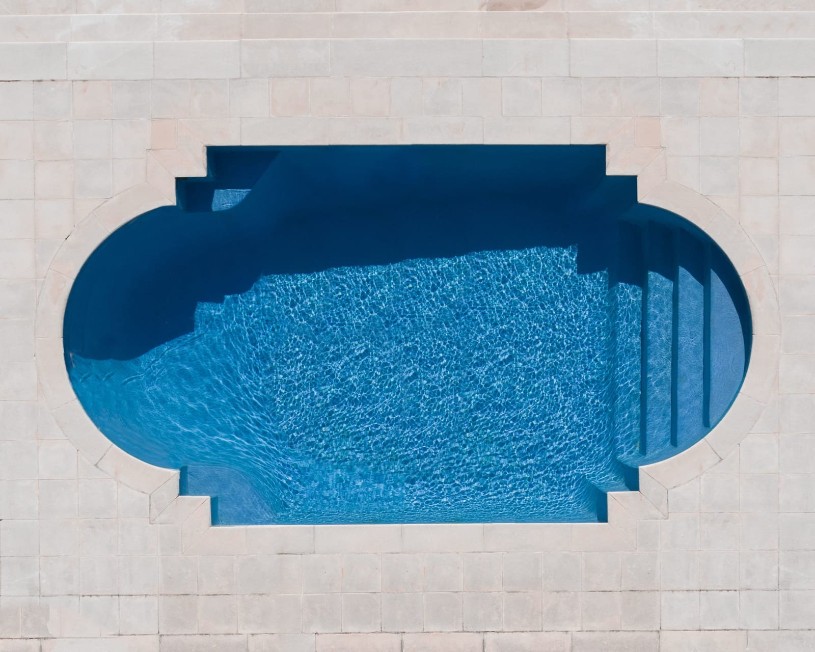 Pools from above