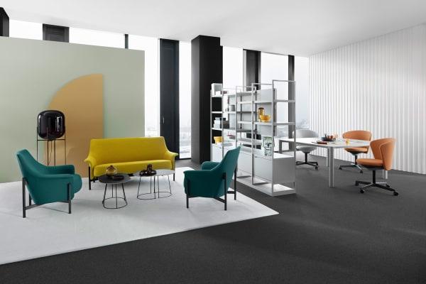 """Gemeinsam mit Bene verlosen wir den """"Ports Lounge Chair"""" im Wert von 1700 Euro."""