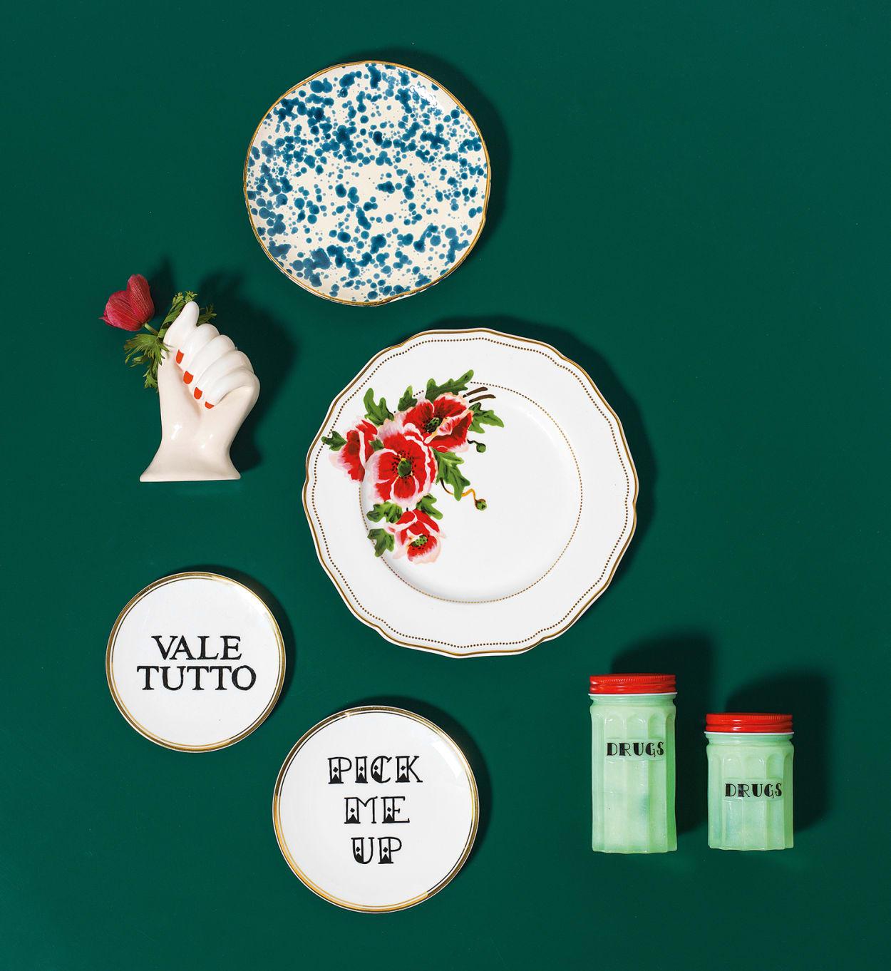 Bitossi Home, Funky Table, Glas, Keramik
